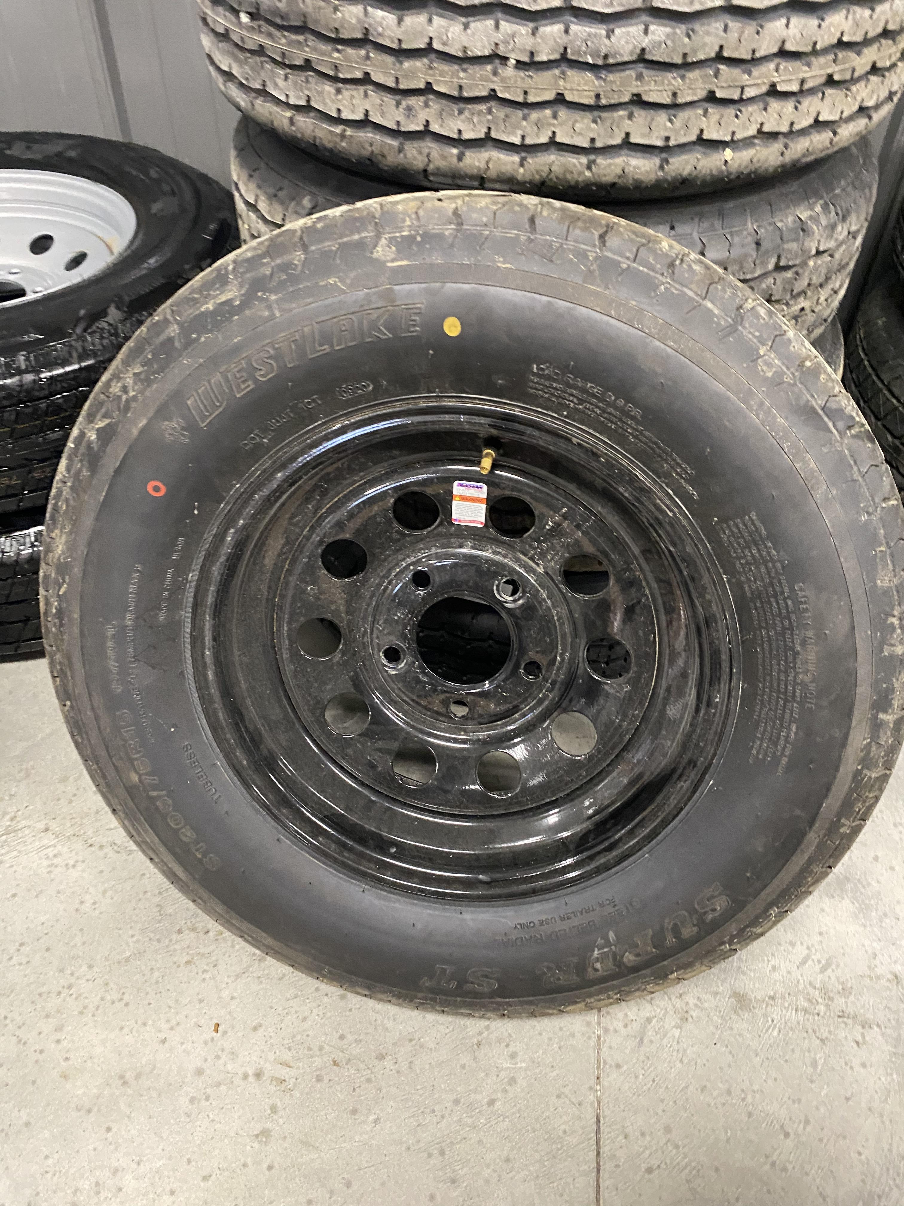 Westlake Tire & Rim 8ply 205/75/15 ~BLACK~