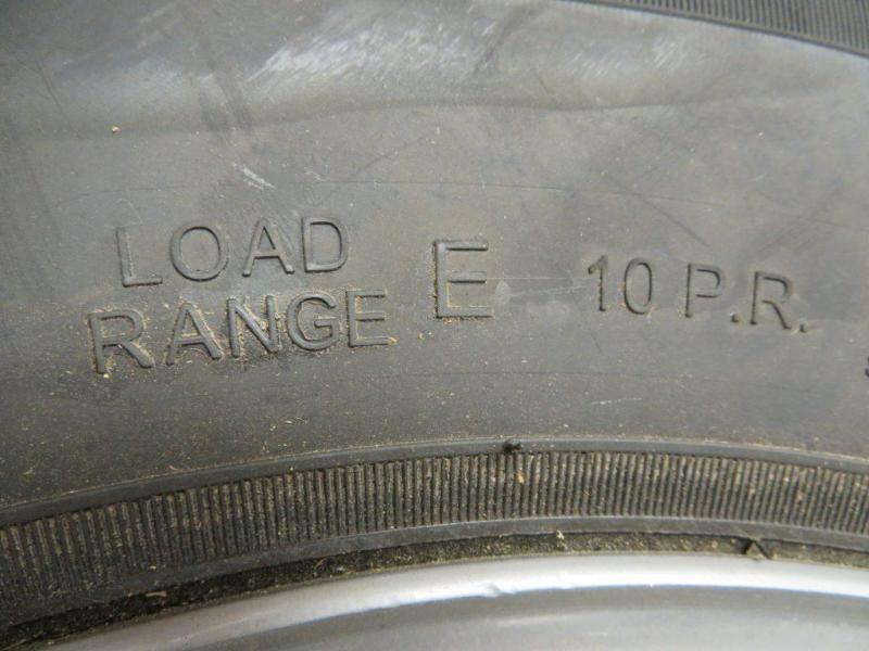 Goodride ST 235/80R 16 Trailer Tire w/ Dually Rim
