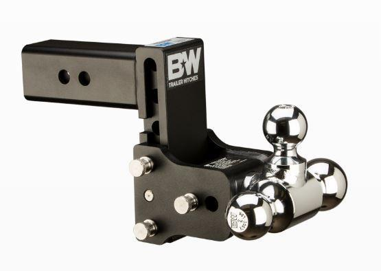"""B&W Hitches. Tow & Stow 2.5"""" Shank. Black Hitch"""