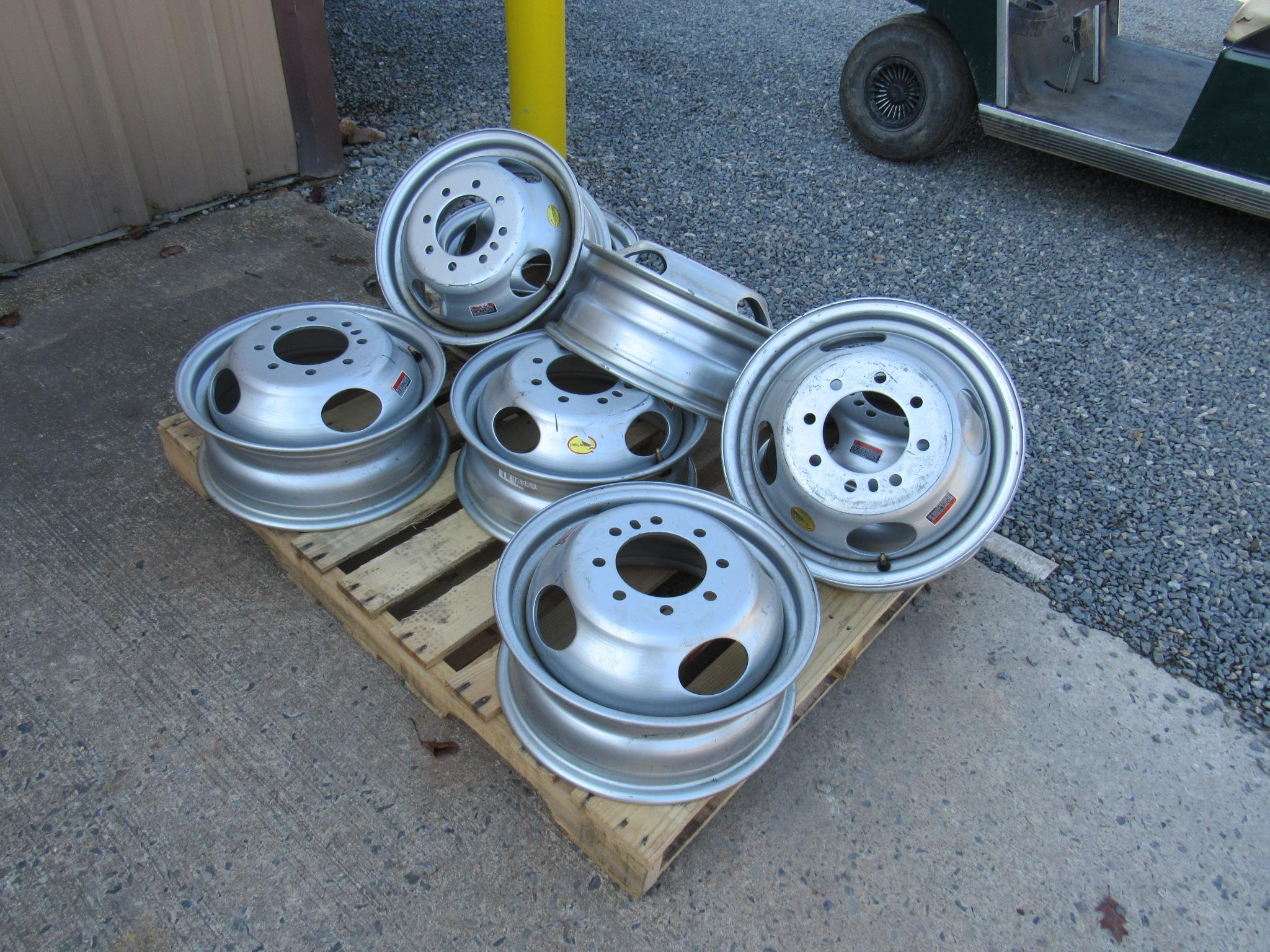 Trailer Duallie Rims