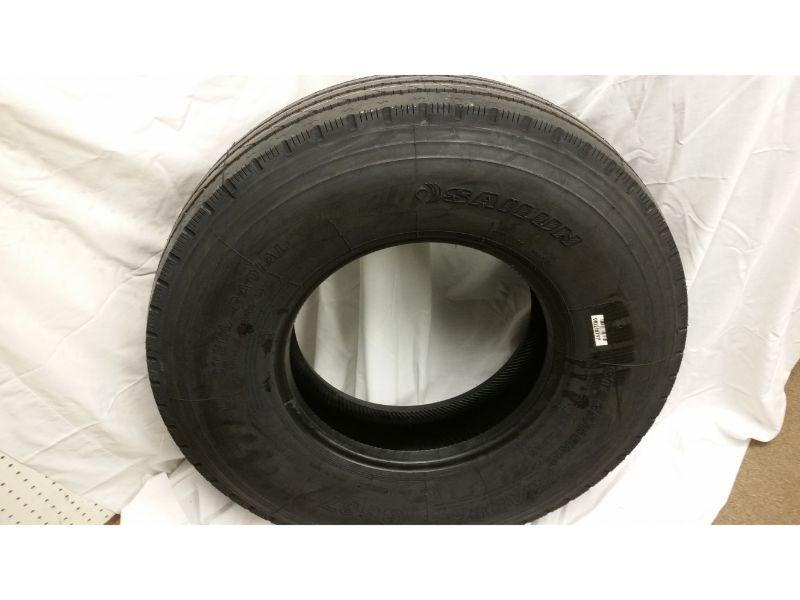 8-14.5 LT Load Range G Radial Tire/Steel Donut Wheel