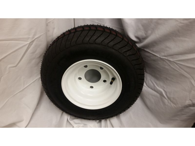 16.5X6.5X8 Trailer Wheel/Tire, 5 Lug
