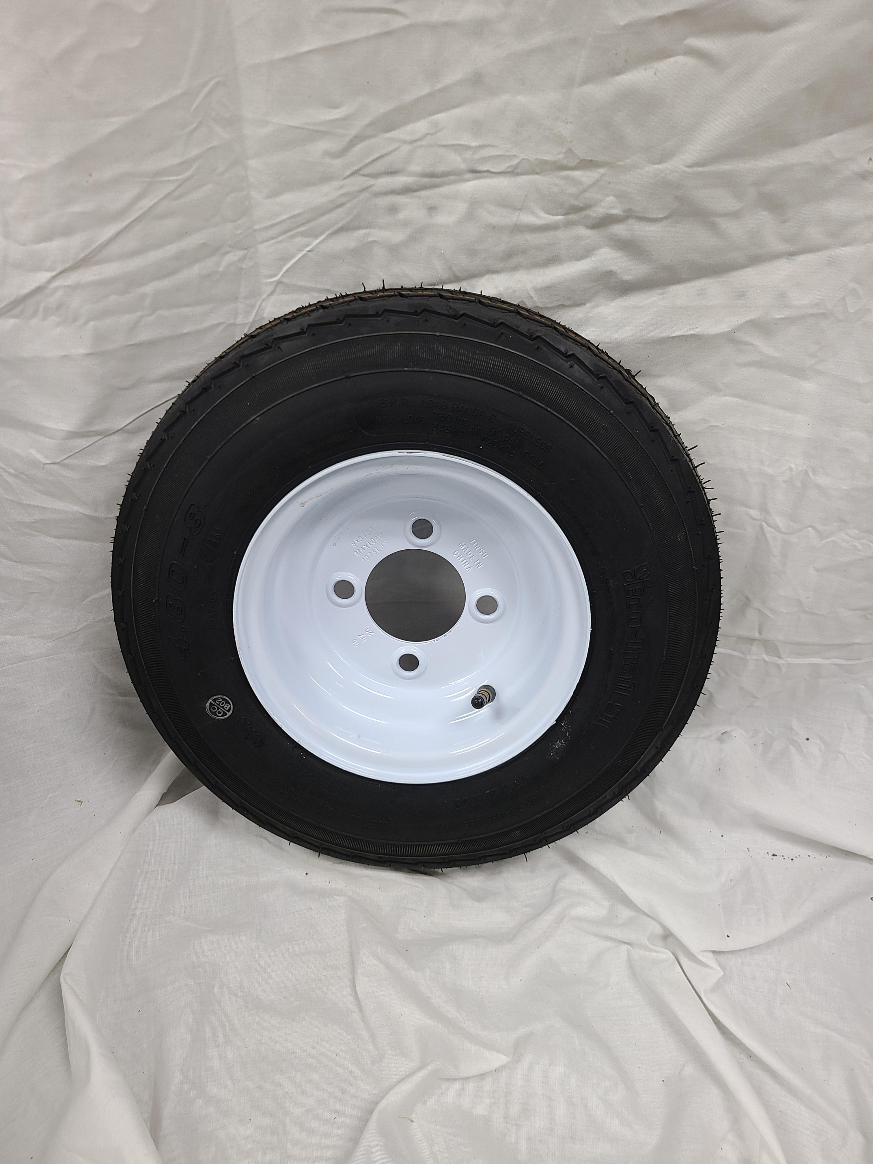 4.80X8 Trailer Wheel/Tire 4 Lug