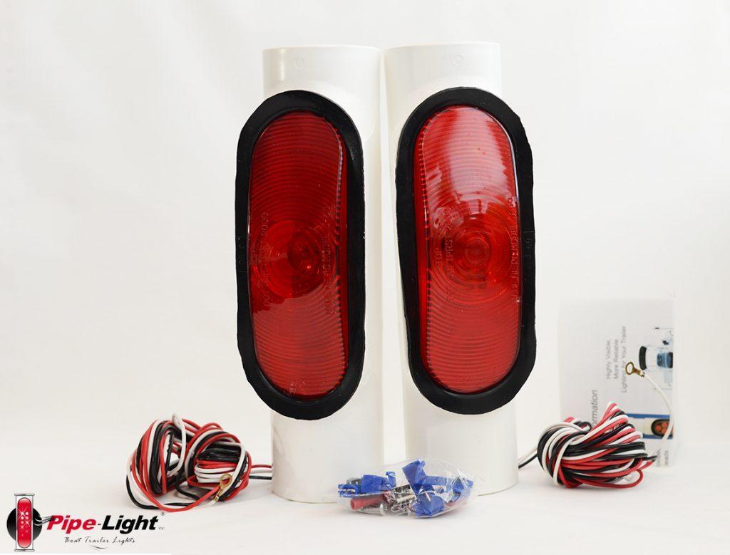 Pipe-Light Boat Trailer Light Kit  - 1018