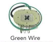 "Trailer Brake Magnet for 10"" Hub/Drum - Green Wire - 194050"