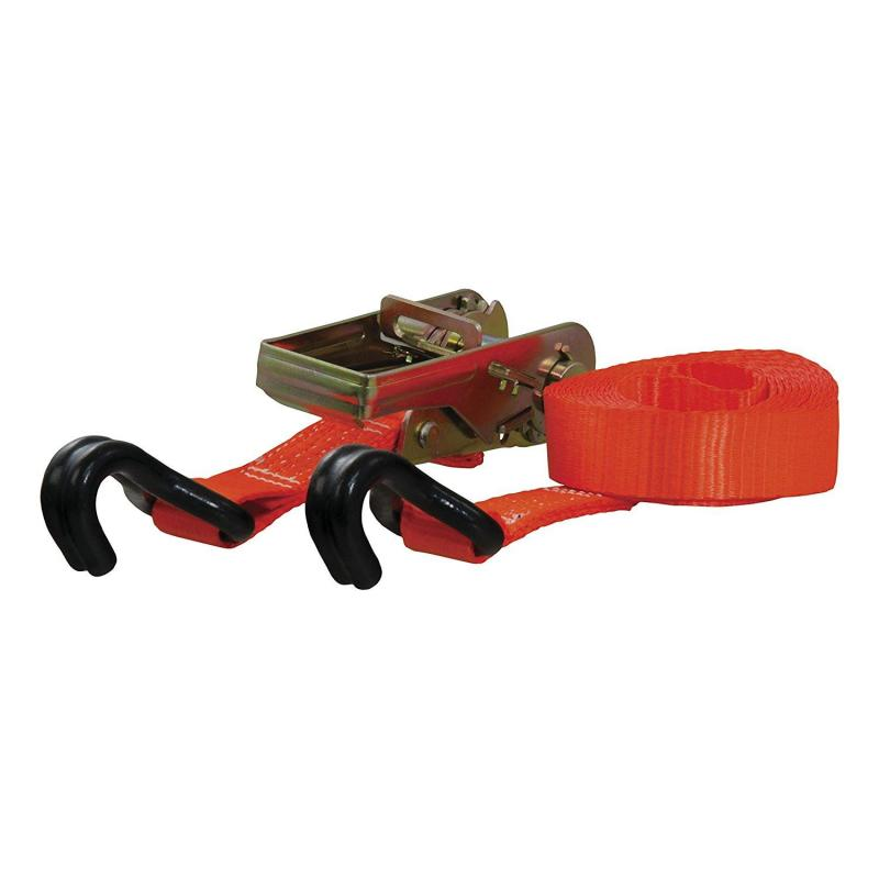 CURT Cargo Strap 1inx16ftx1100WLL 1Pk Orange