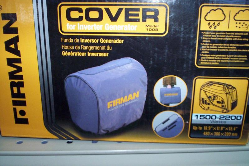 Firman Cover for 1500-2200 generator