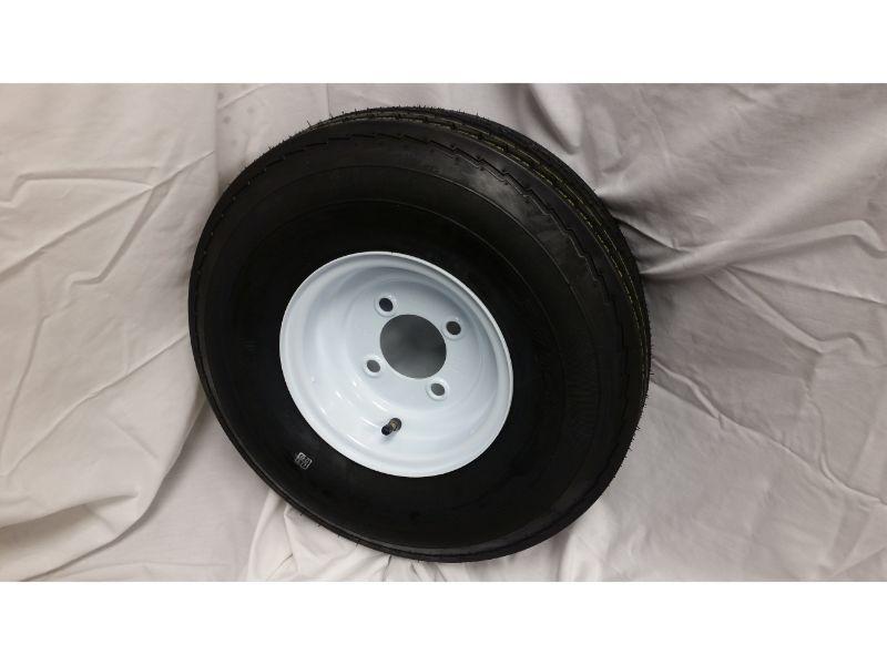 5.70X8 Trailer Wheel/Tire, 4 Lug