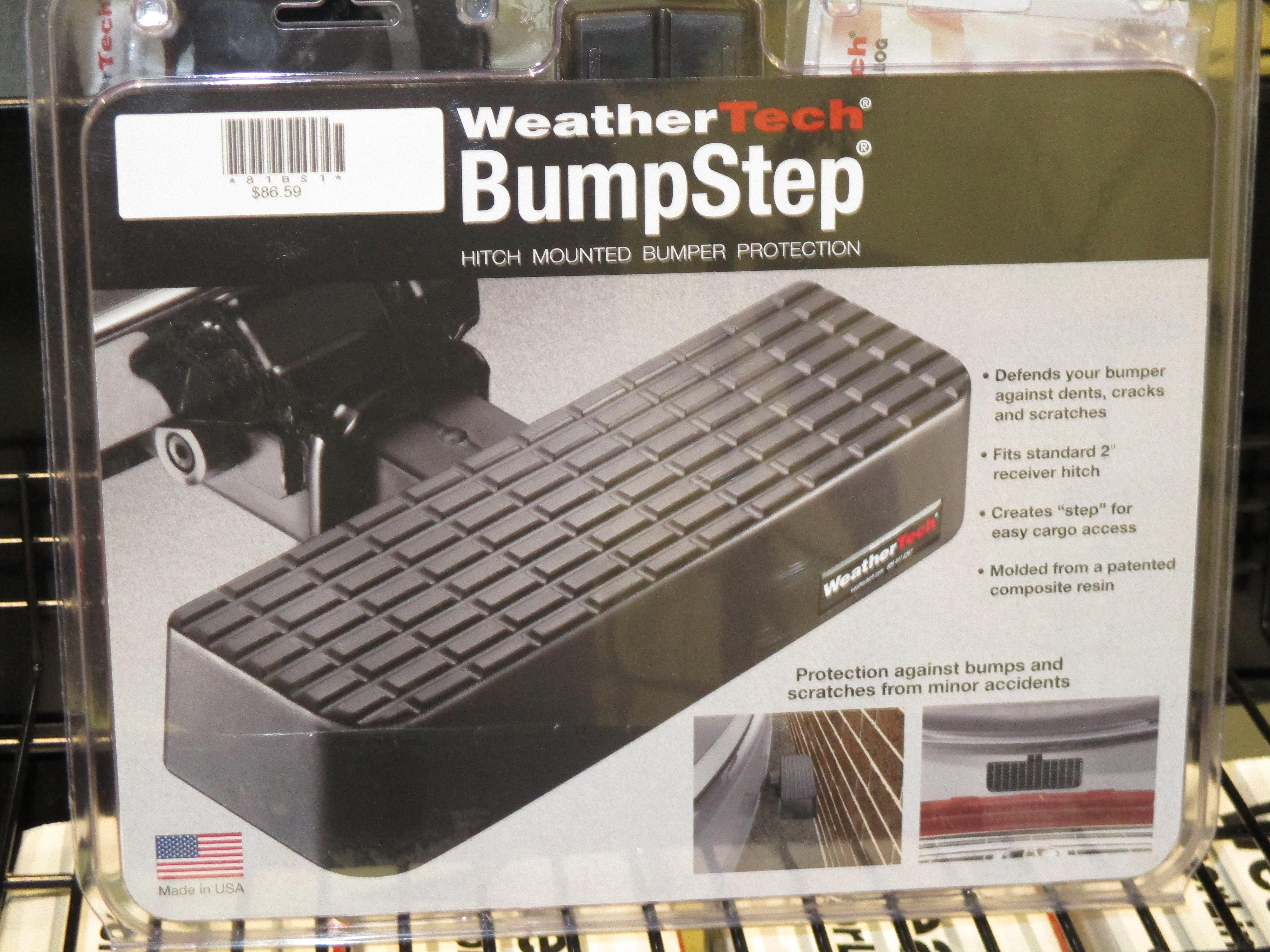 WeatherTech Bumper Step