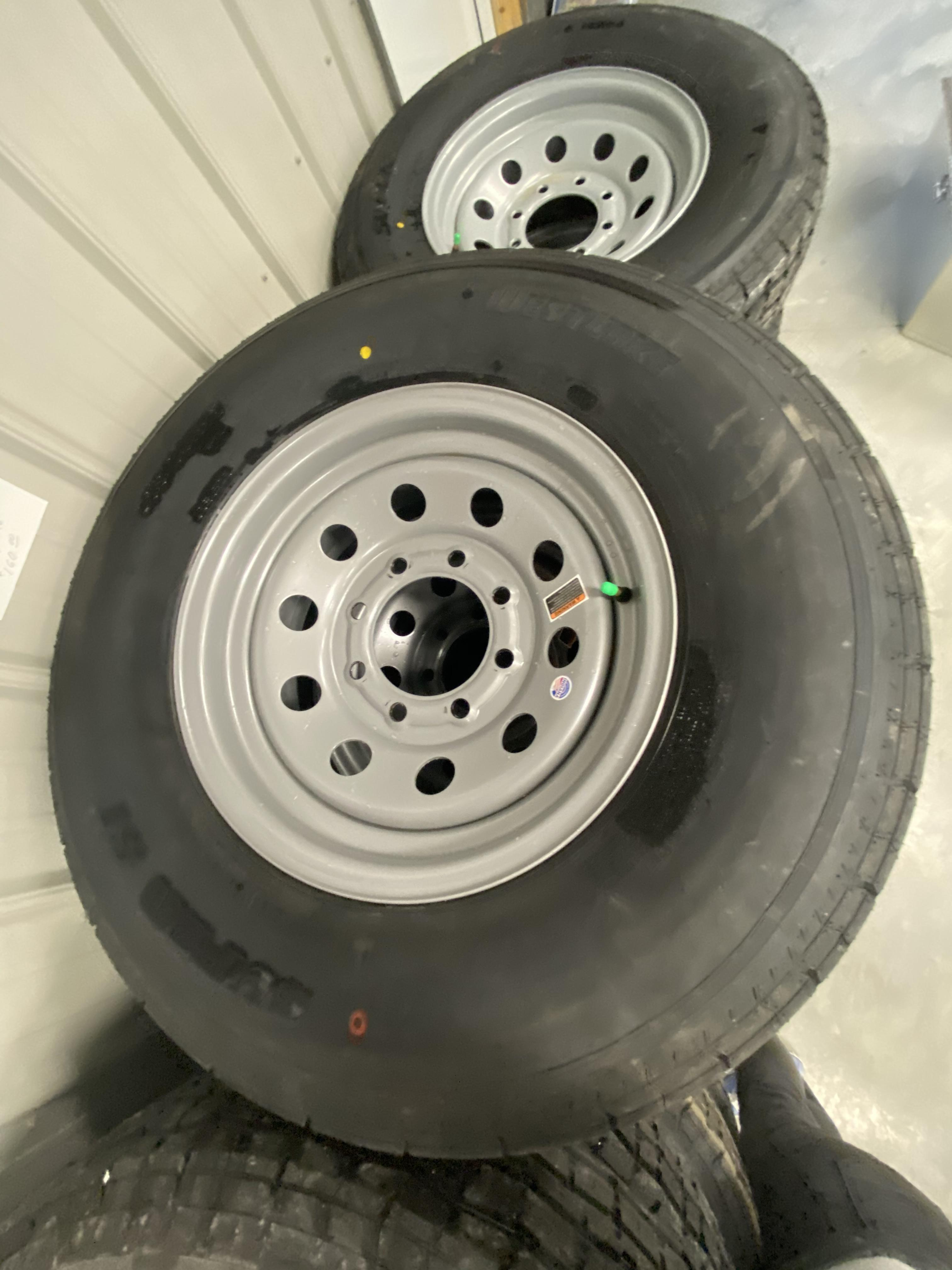 Westlake 235/80/R16 8lug 10ply Silver