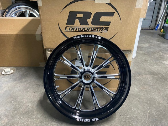 RC COMP HAMMER S FRONT SPINDLE MOUNT WHEELS