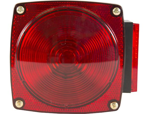 5 Inch Box-Style Incandescent Stop/Turn/Tail Light/License Light