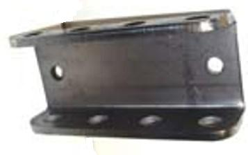 Adjustable Towing Position Brackets CHANNEL BRKT ADJ 4 HOLE 24K WELD-ON B8978 .312 x 7.5