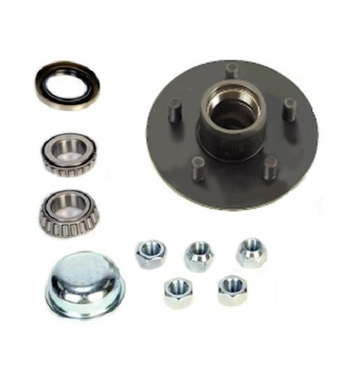Dexter 5 on 4.5in Standard 6.5in Flange Hub Kit 1in Spindle For 2K Axles - INSTALLATION AVAILABLE