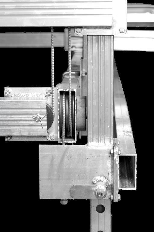 JBLUNDDOCK.COM  4800 lb ALUMINUM VERTICAL PONTOON LIFT