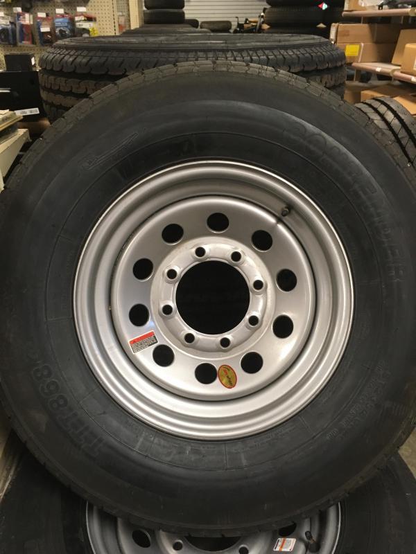 235 R16 8Lug new tire and wheel