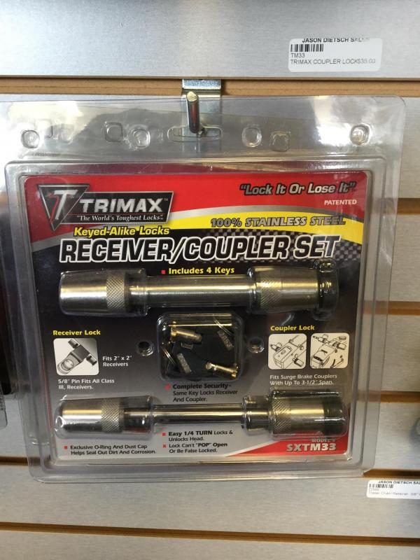 Trimax Coupler Lock