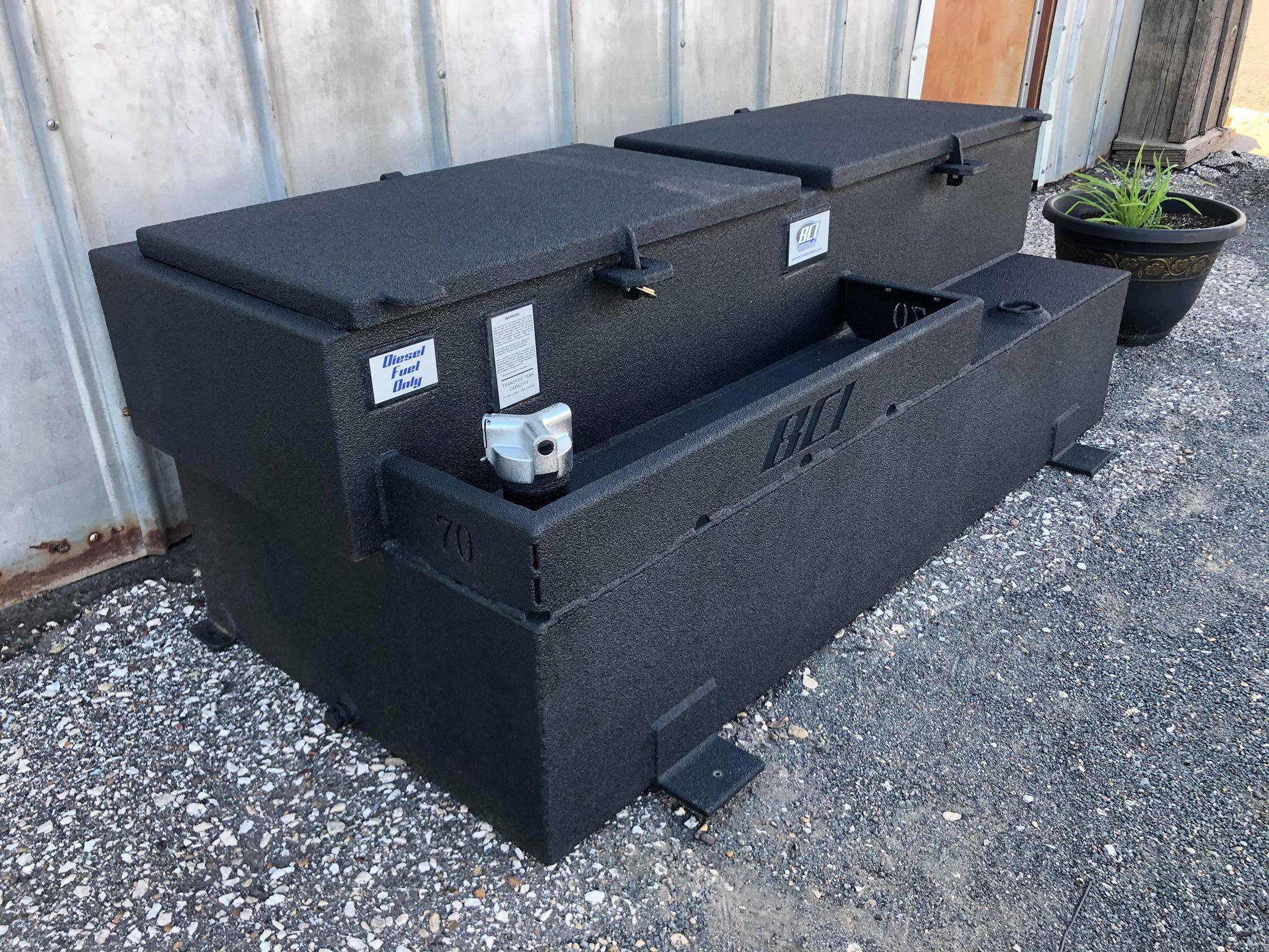 """10"""" Toolbox on 70 Gallon Tank"""