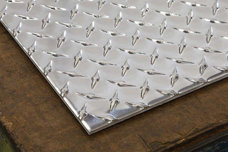 Aluminum Tread Plate 4x8 Sheet Silver