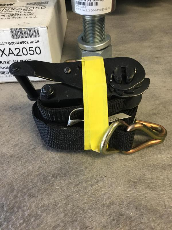 "1""x15' Ratchet Strap"