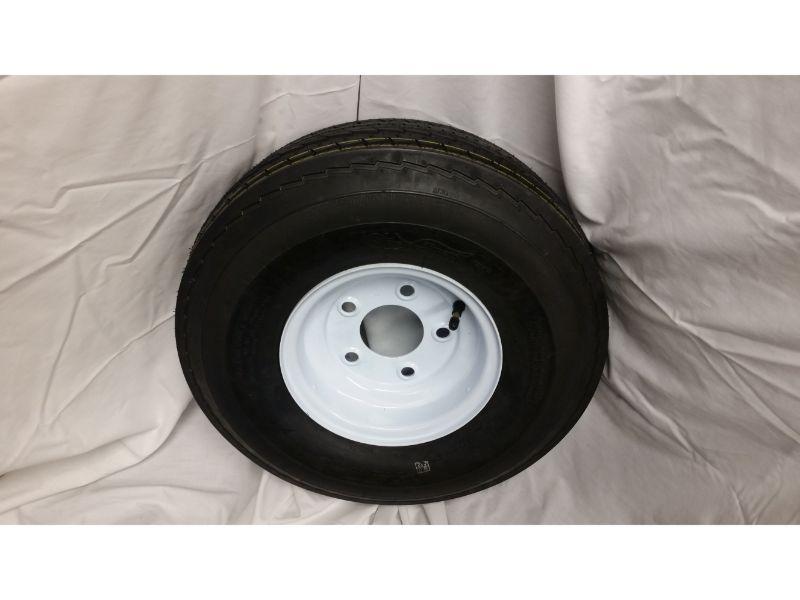 5.70X8 Trailer Wheel/Tire, 5 Lug