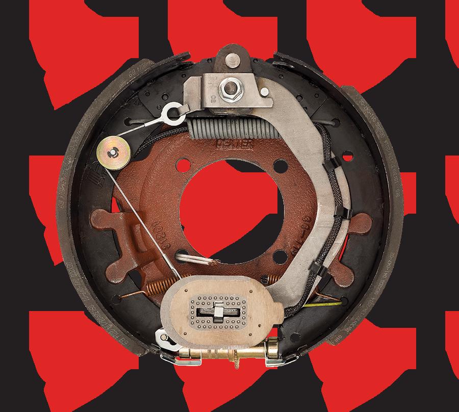 12-1/4 X 3-3/8 Dexter Electric Brake 4 Bolt 8K Right Hand