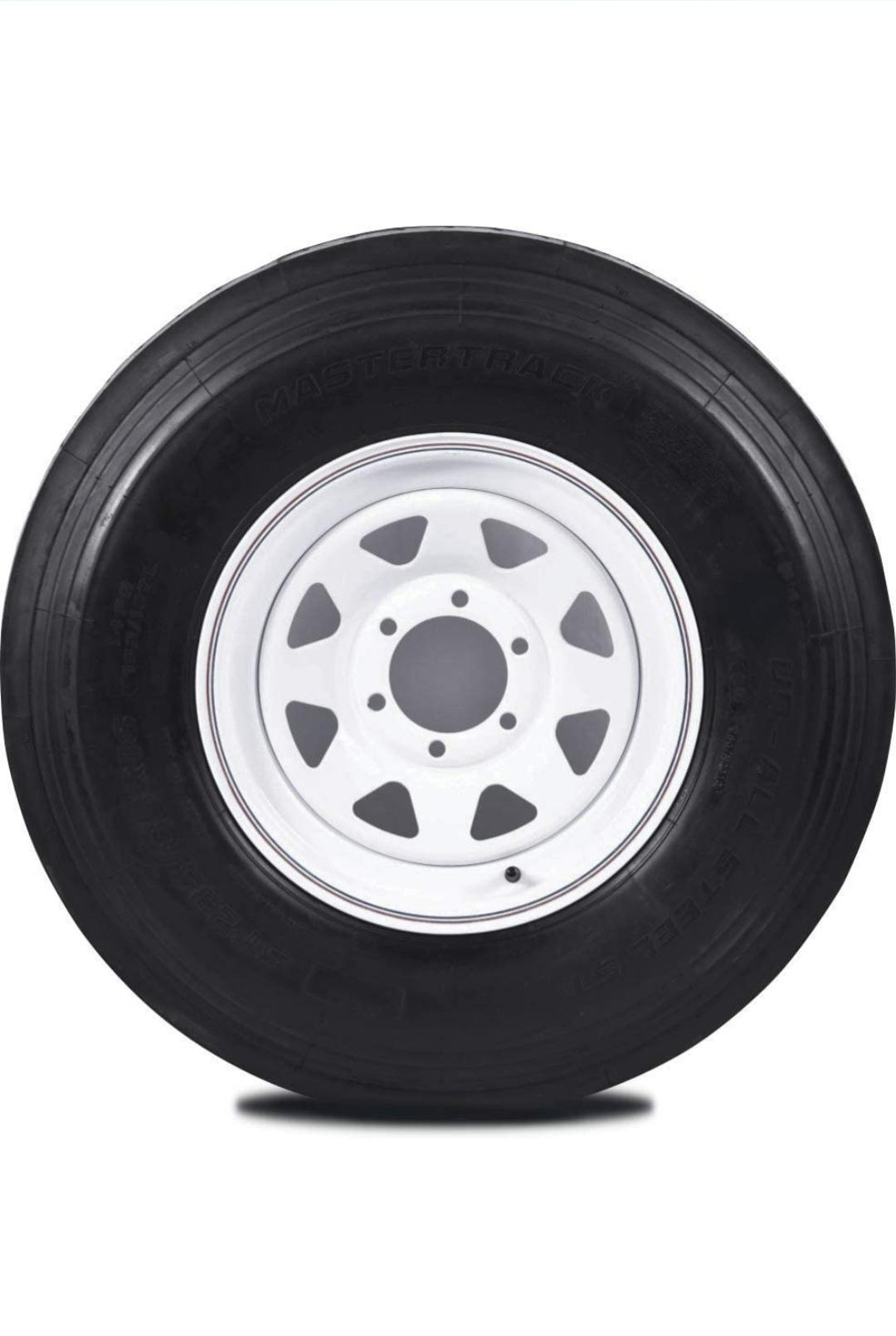 ST235/80R16 Mastertrack- 3 colors- Rim and Wheel