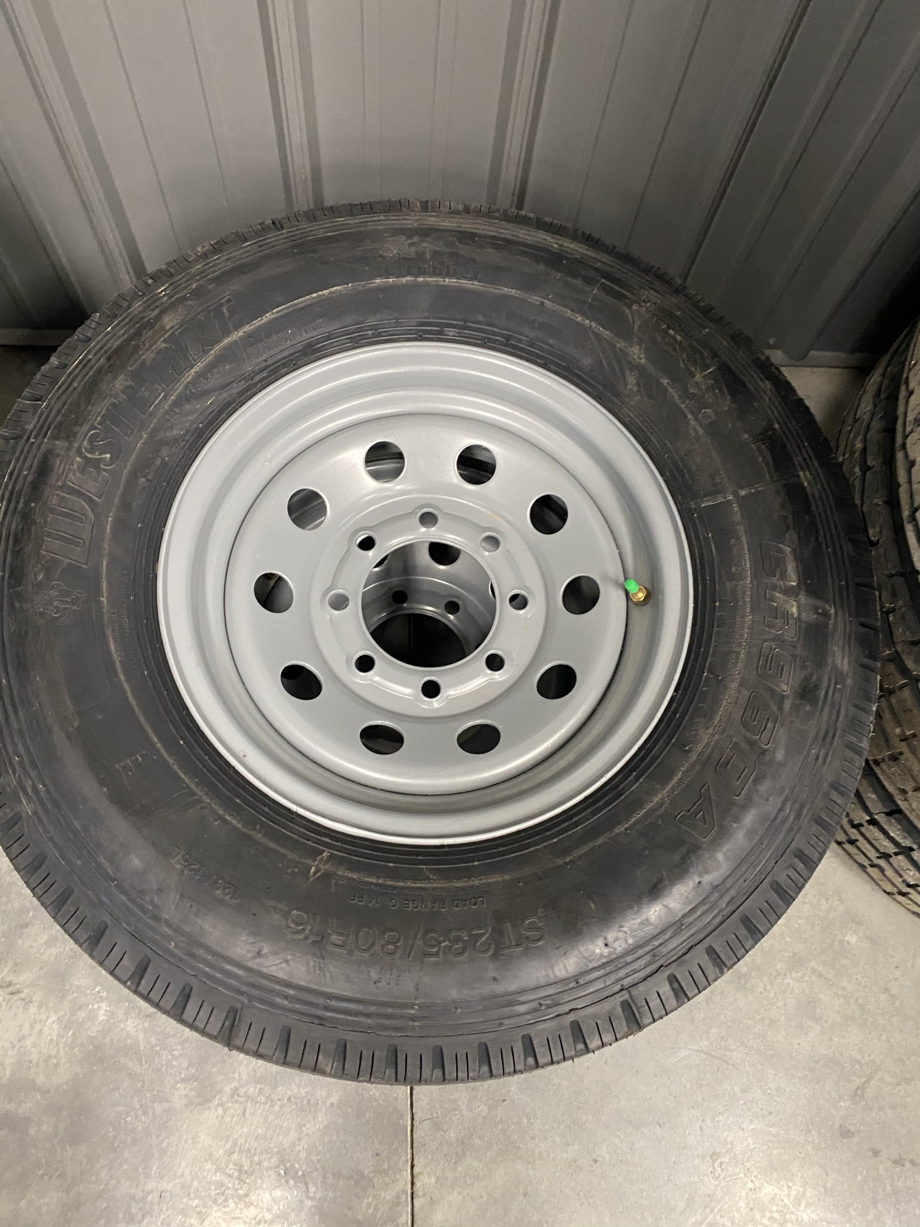 Westlake Tire and Rim 235/80/16 8 LUG 14PLY  ~Silver~