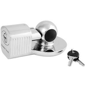 Trailer Coupler Lock MASTERLOCK 377DAT Fits 1-7/8in (48mm) 2in (51mm) and most 2-5/16in (59mm) trailer couplers