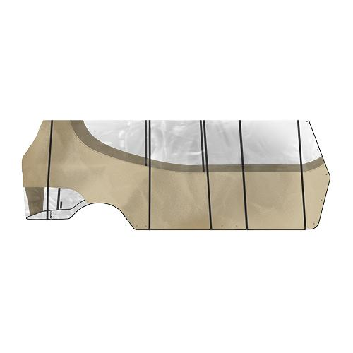 Double Take 6 Passenger Track Style Enclosure w/Valance for CCP