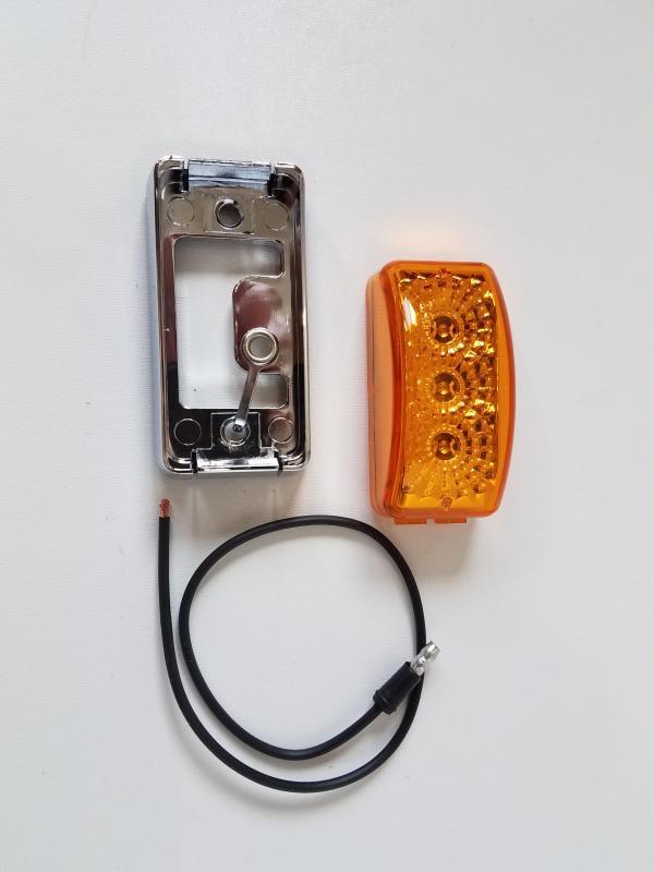 Amber LED Marker Light Kit