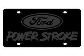 FORD POWER STROKE License Plate