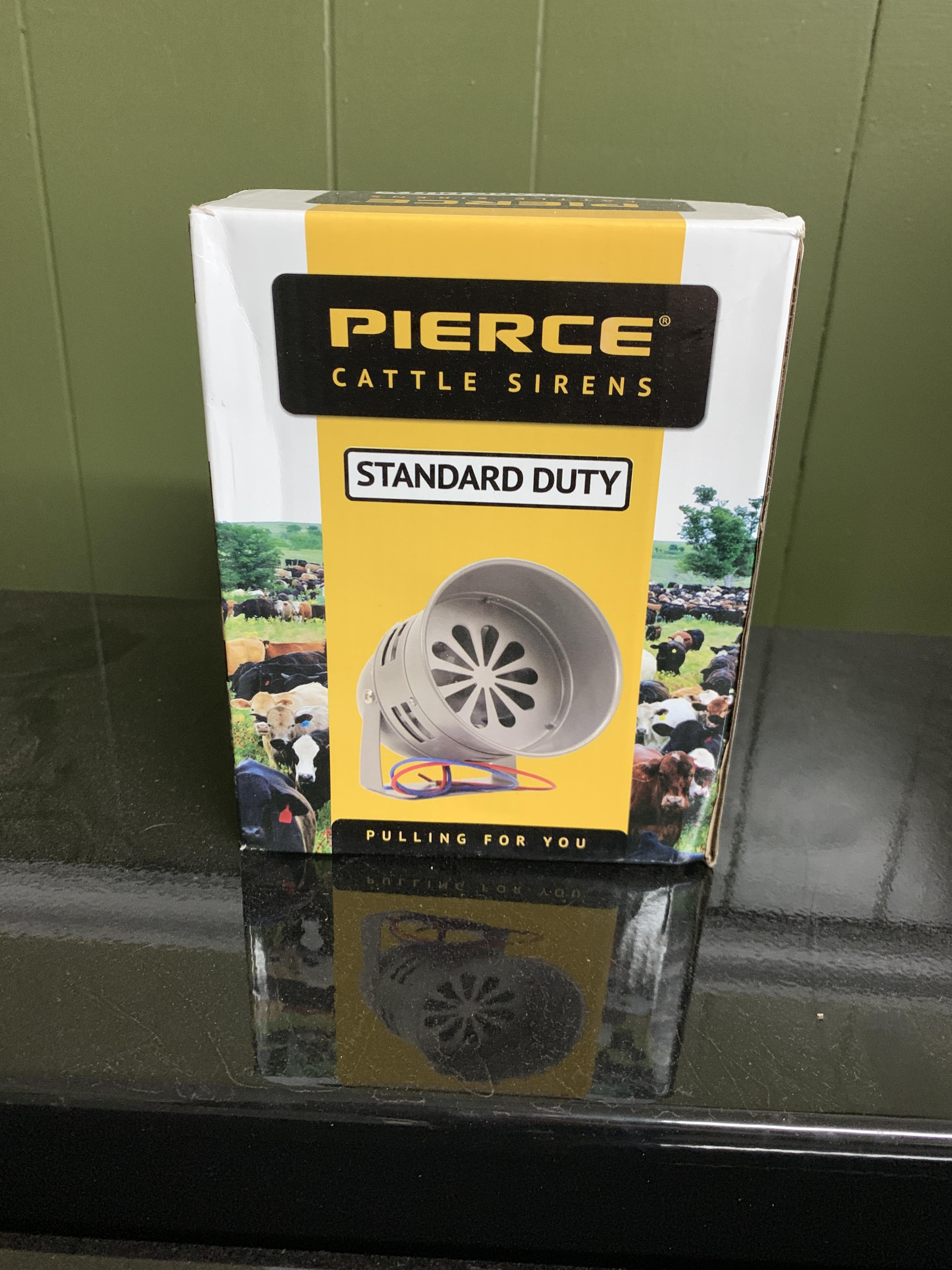 Pierce Standard Duty Cattle Siren