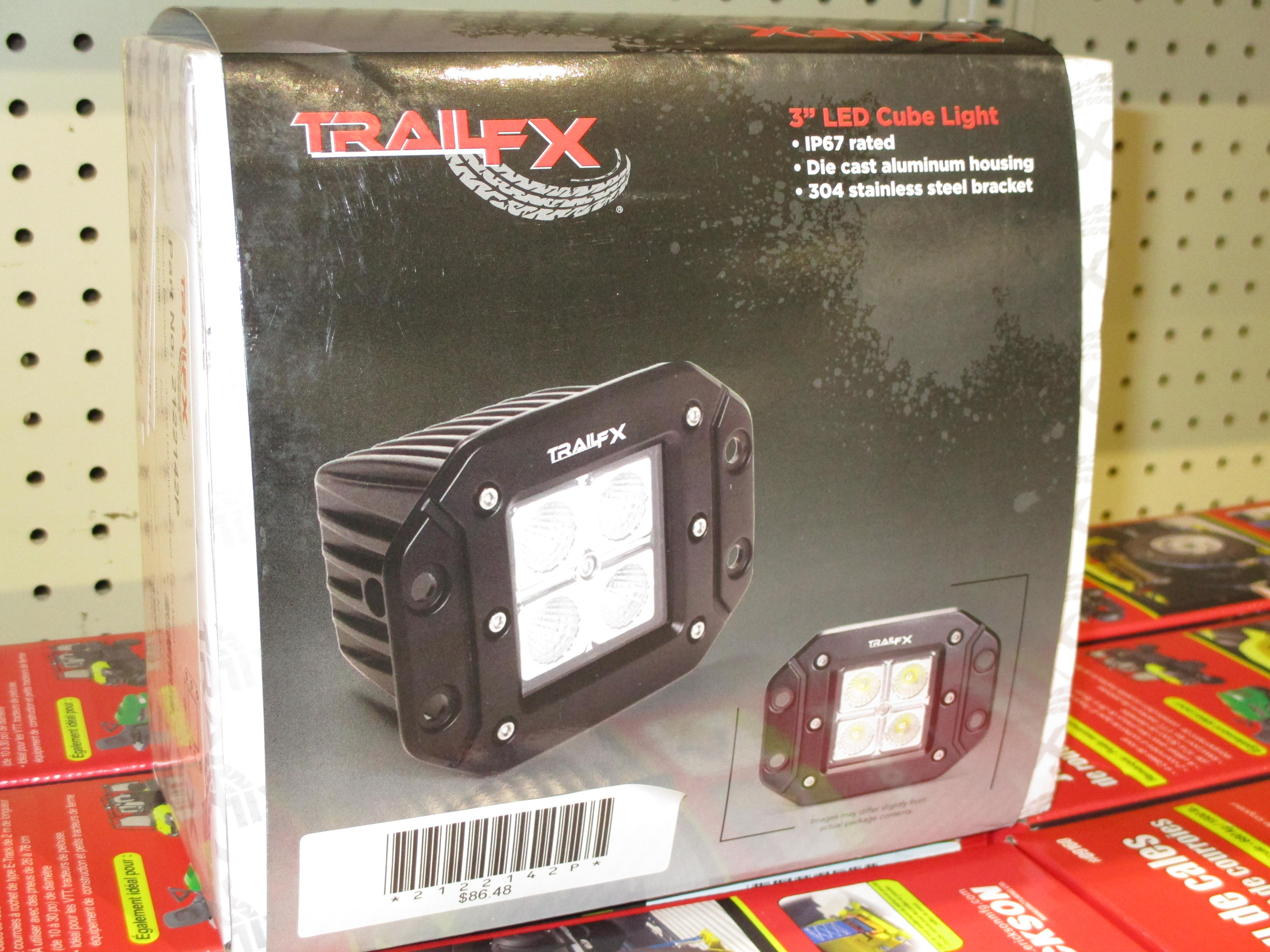 TrailFX 3'' LED Cube Light