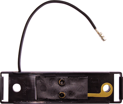 Black bracket & A65P single wire plug