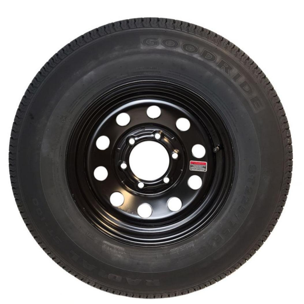 ST225/75R15 Goodride- Black- Rim and Wheel
