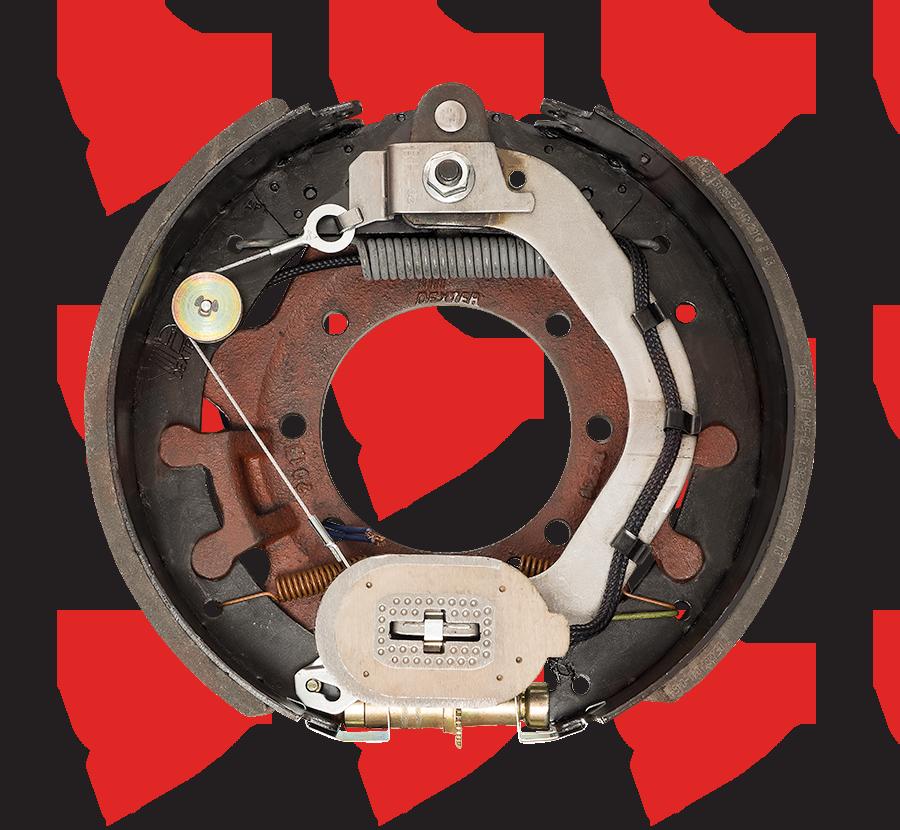 12-1/4 X 5 Dexter Electric Brake 15K Right Hand