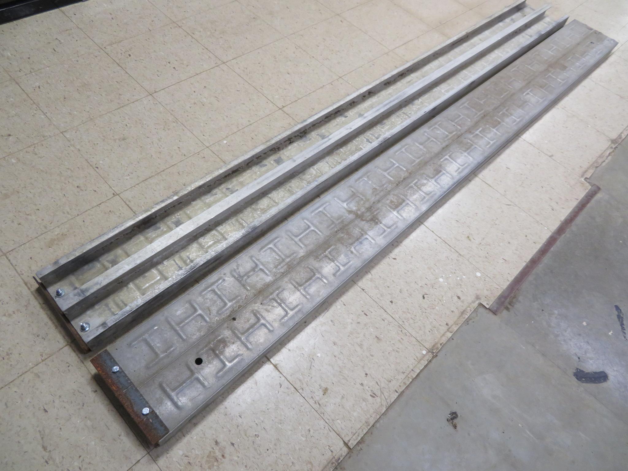 """Aluminum Ramps 9"""" x 96"""""""