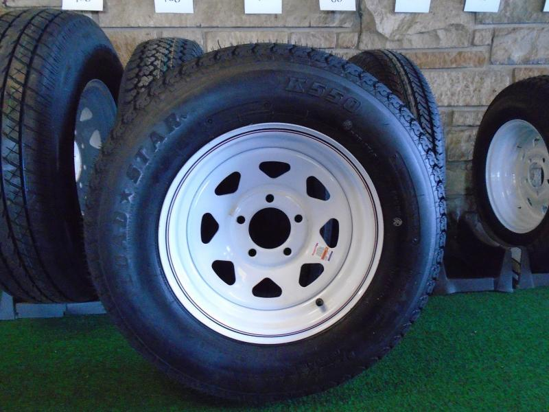 Trailer Rim and Tire Assemby