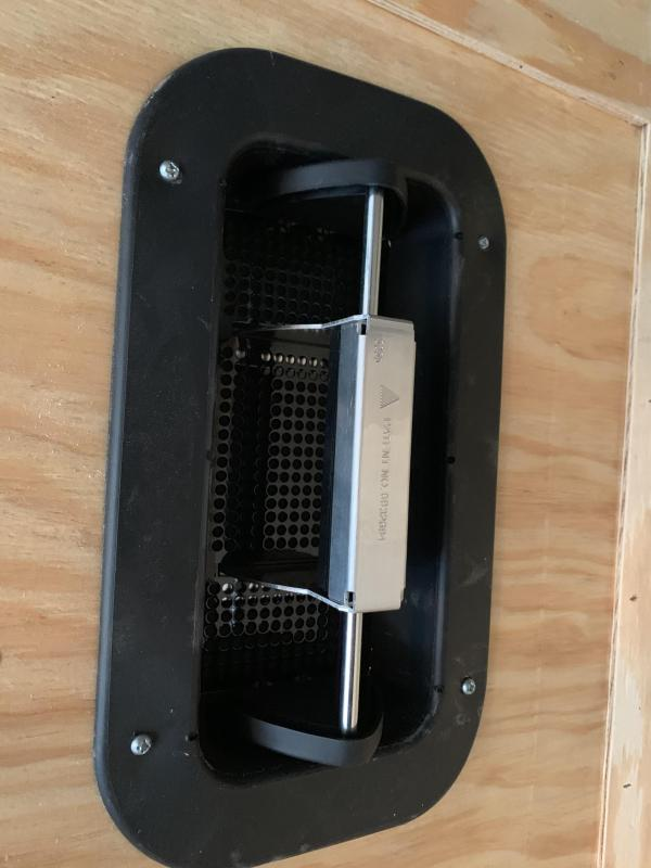Aluminum Pushout Sidewall Vents $75