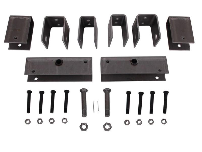 Tandem Axle Hanger Slipper Kit
