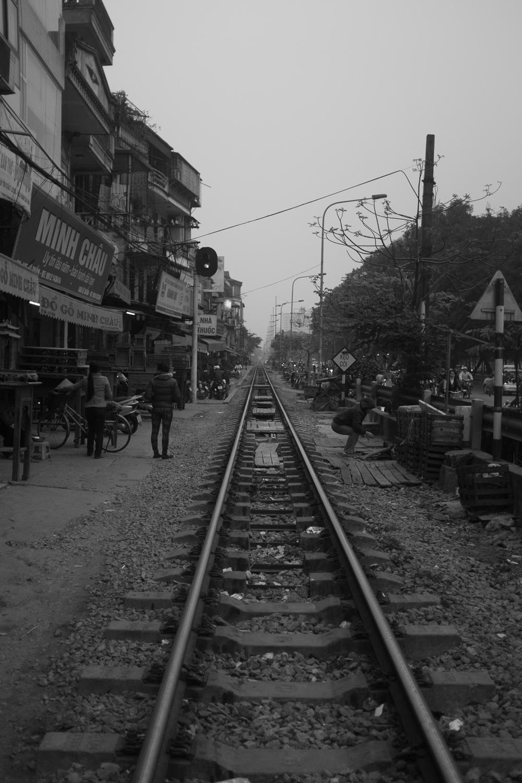 Train Tracks in Ha Noi