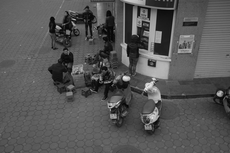 Street Scene in Ha Noi