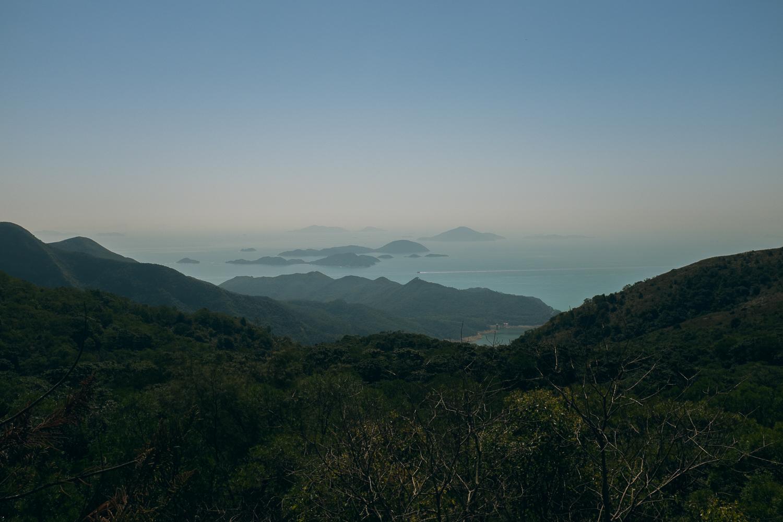 View from Lantau Island
