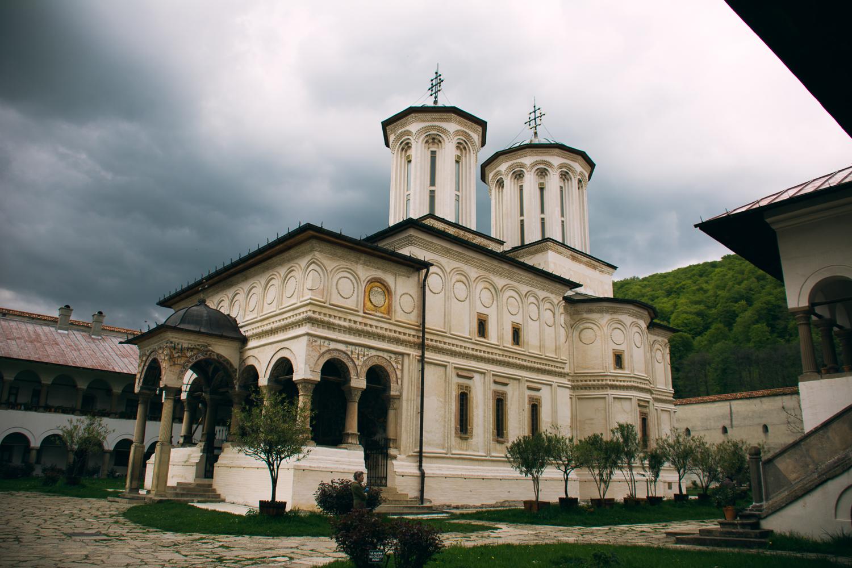 The actual monastery