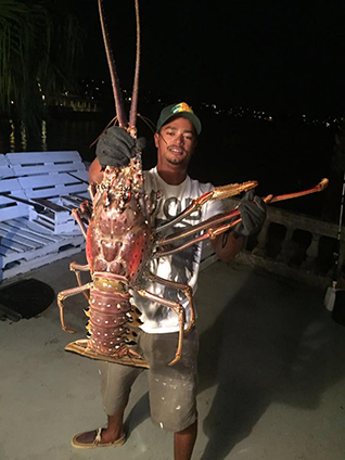 Giant 14 Pound Lobster Caught Off The Coast Of Bermuda