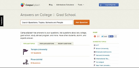 11 ed tech startups looking to make an impact in dc education dive on campussplash users can ask and answer questions about college grad school study abroad and internship programs financial aid and a variety of other fandeluxe Images