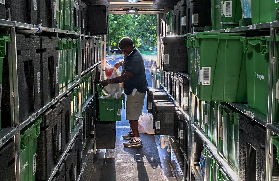 Peeking inside the pod: A deep look inside Peapod's grocery