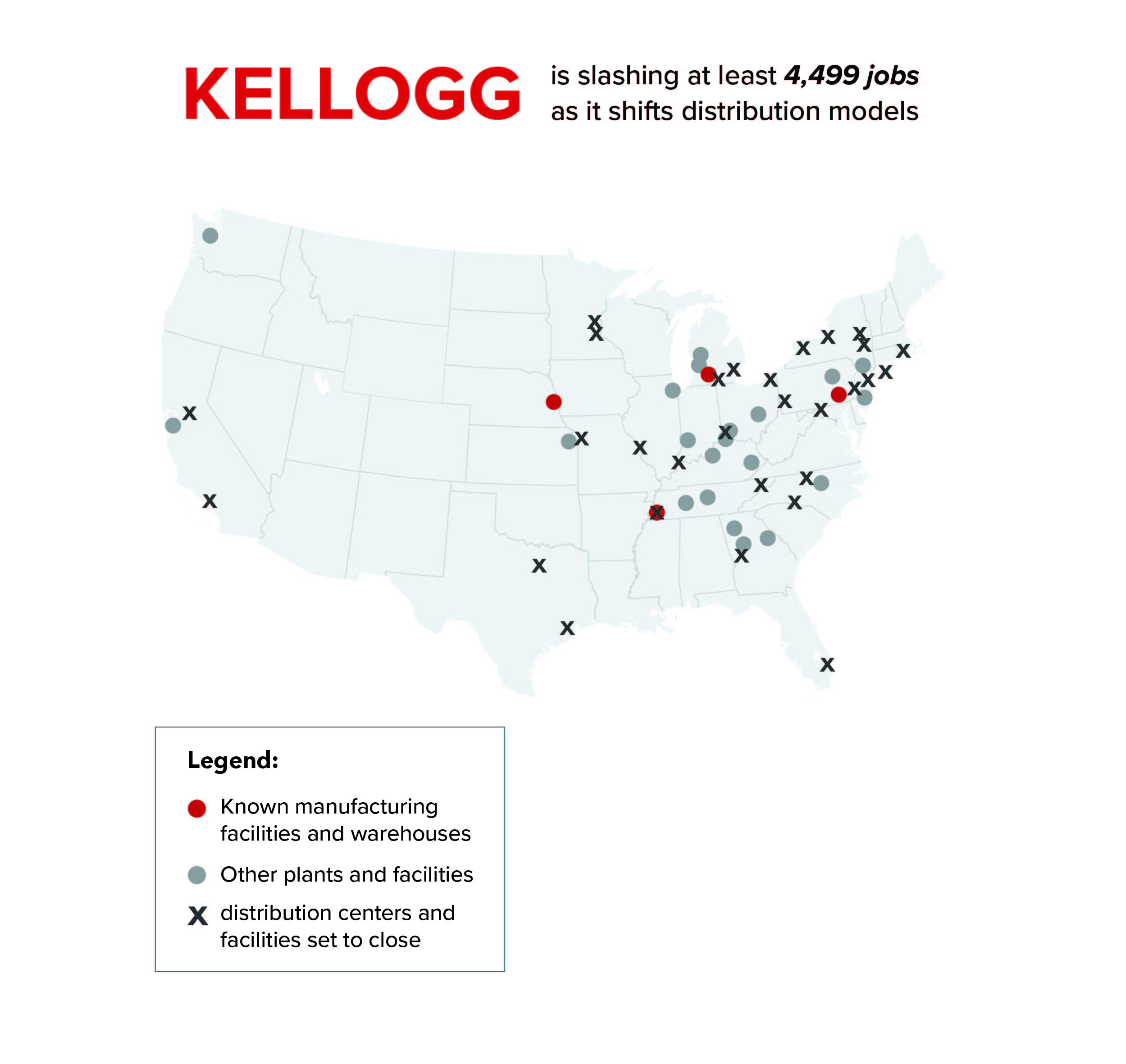 Kellogg's new supply chain model comes at a high cost