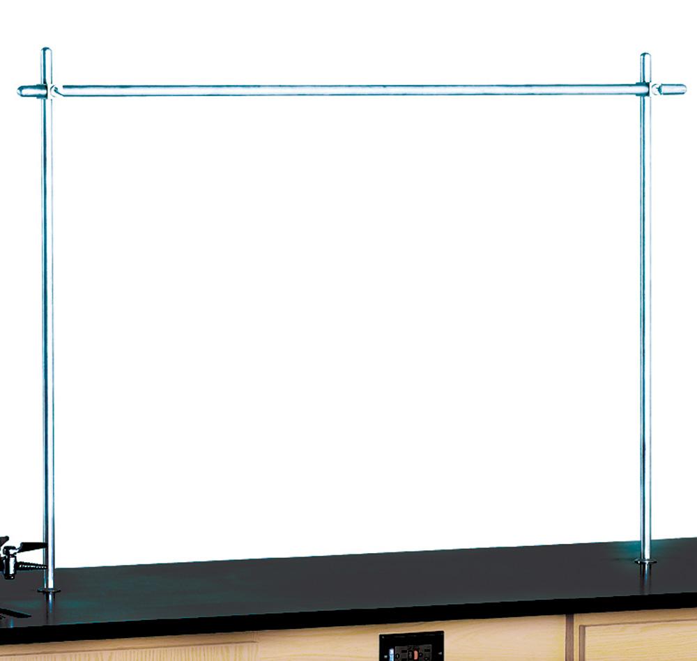 Upright set with full crossbar